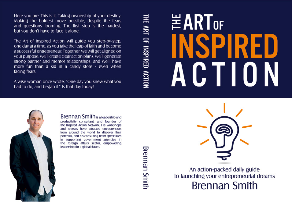 The Art of Inspired Action, by Brennan Smith C.Ht.